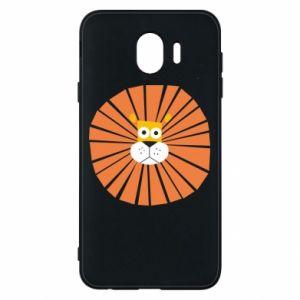Etui na Samsung J4 Sunny lion