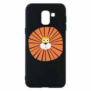 Etui na Samsung J6 Sunny lion