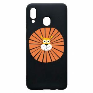 Etui na Samsung A20 Sunny lion