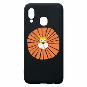 Etui na Samsung A40 Sunny lion