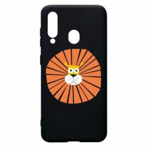 Etui na Samsung A60 Sunny lion