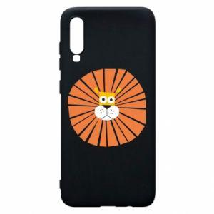 Etui na Samsung A70 Sunny lion