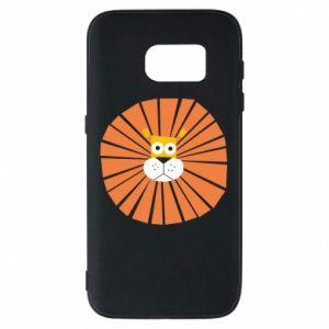 Etui na Samsung S7 Sunny lion