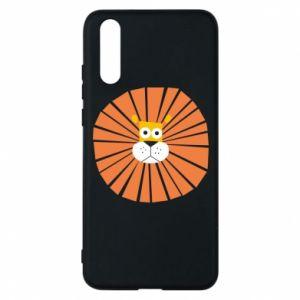 Etui na Huawei P20 Sunny lion