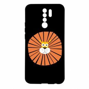 Etui na Xiaomi Redmi 9 Sunny lion