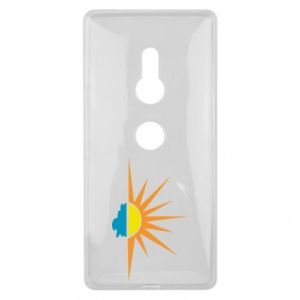 Etui na Sony Xperia XZ2 Sunset sun sea