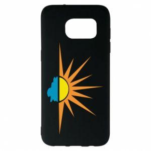 Etui na Samsung S7 EDGE Sunset sun sea