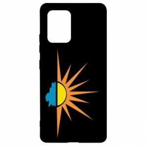 Etui na Samsung S10 Lite Sunset sun sea