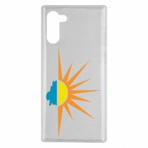 Etui na Samsung Note 10 Sunset sun sea