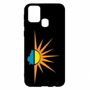 Etui na Samsung M31 Sunset sun sea