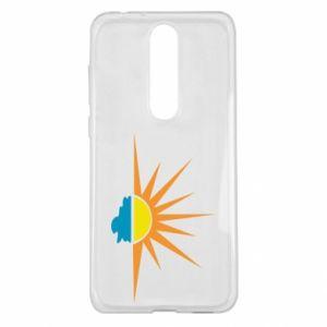 Etui na Nokia 5.1 Plus Sunset sun sea