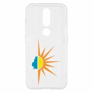 Etui na Nokia 4.2 Sunset sun sea