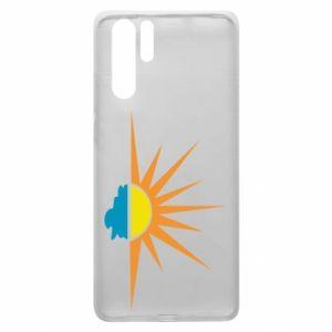 Etui na Huawei P30 Pro Sunset sun sea