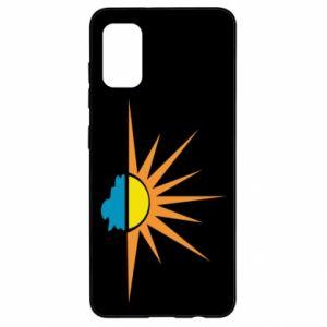 Etui na Samsung A41 Sunset sun sea