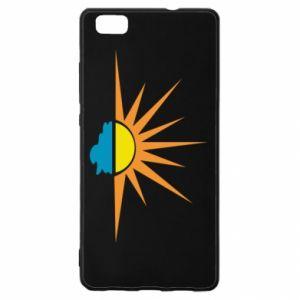 Etui na Huawei P 8 Lite Sunset sun sea