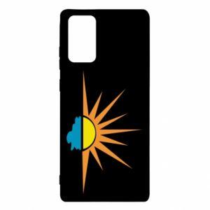 Etui na Samsung Note 20 Sunset sun sea
