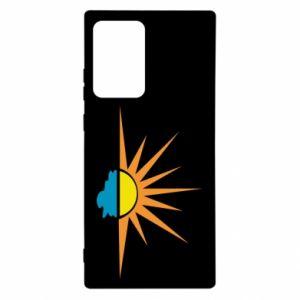 Etui na Samsung Note 20 Ultra Sunset sun sea