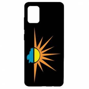 Etui na Samsung A51 Sunset sun sea