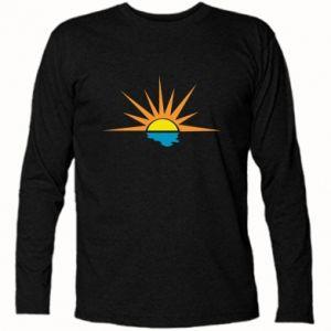 Koszulka z długim rękawem Sunset sun sea
