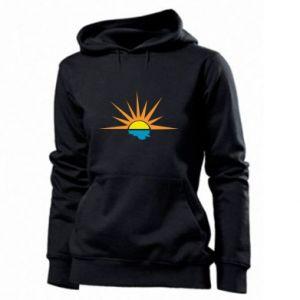 Bluza damska Sunset sun sea