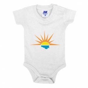 Body dziecięce Sunset sun sea