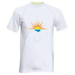 Koszulka sportowa męska Sunset sun sea