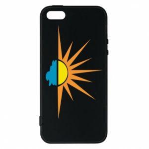 Etui na iPhone 5/5S/SE Sunset sun sea