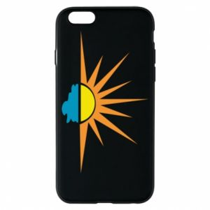 Etui na iPhone 6/6S Sunset sun sea