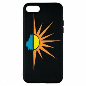 Etui na iPhone 7 Sunset sun sea