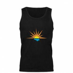 Męska koszulka Sunset sun sea