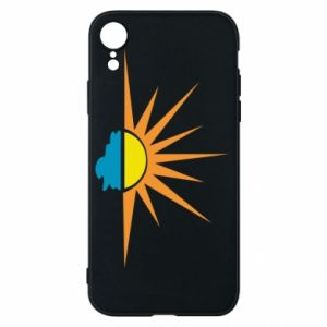 Etui na iPhone XR Sunset sun sea