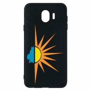 Etui na Samsung J4 Sunset sun sea