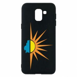 Etui na Samsung J6 Sunset sun sea