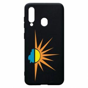 Etui na Samsung A60 Sunset sun sea