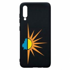 Etui na Samsung A70 Sunset sun sea