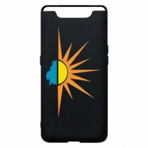 Etui na Samsung A80 Sunset sun sea
