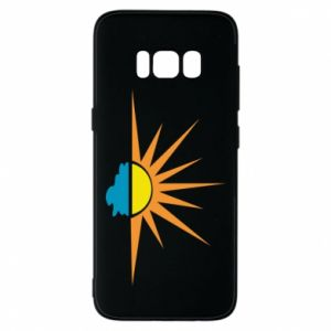 Etui na Samsung S8 Sunset sun sea