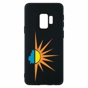 Etui na Samsung S9 Sunset sun sea