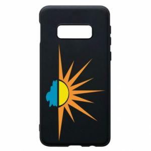Etui na Samsung S10e Sunset sun sea