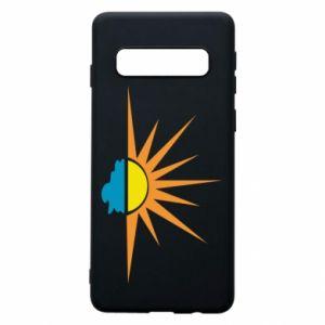 Etui na Samsung S10 Sunset sun sea