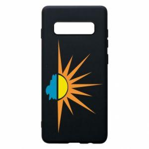 Etui na Samsung S10+ Sunset sun sea