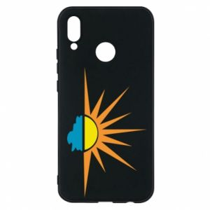 Etui na Huawei P20 Lite Sunset sun sea