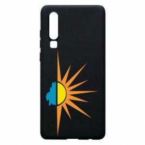 Etui na Huawei P30 Sunset sun sea
