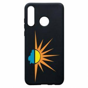Etui na Huawei P30 Lite Sunset sun sea