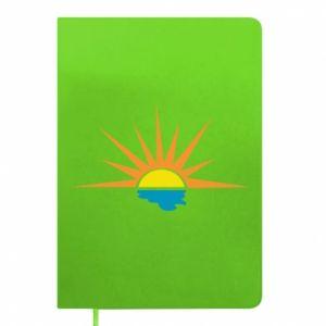 Notes Sunset sun sea
