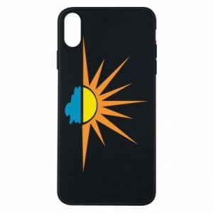 Etui na iPhone Xs Max Sunset sun sea