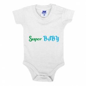 Body dziecięce Super baby. Color