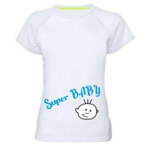 Koszulka sportowa damska Super baby