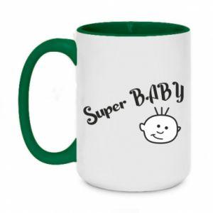 Kubek dwukolorowy 450ml Super baby