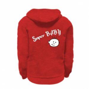 Bluza na zamek dziecięca Super baby